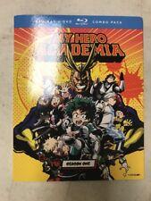 My Hero Academia Season 1 Blu-Ray/DVD Combo Pack. New Sealed Anime.