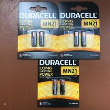 6 x BATTERIE ALCALINE DURACELL MN21 A23 LRV08 12V-nuovo di magazzino più lunga scadenza UK