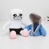 9'' Undertale Sans Hugger Plush Doll Soft Stuffed Toy Cosplay Kid Birthday Gift