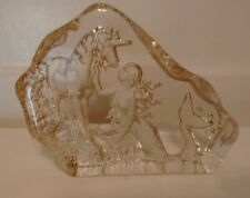 Mermaid with Unicorn Glass Piece
