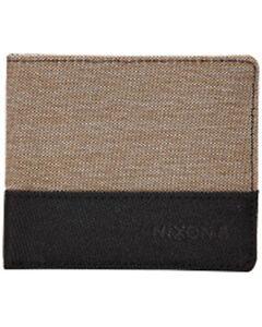 Nixon Atlas Showdown Nylon Bi-Fold Wallet (Khaki Heather)