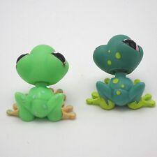 Littlest Pet Shop lot - 2 Spotted Frogs