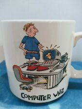 John Lamb Computer Whiz Mug Coffee Cup