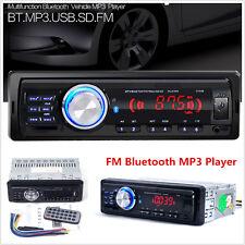 12V In-Dash Car Bluetooth Stereo Audio MP3 Player FM Radio WMA USB/SD/AUX 1131B