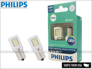 1156 P21W PHILIPS ULTINON Reverse Backing LED Bulbs WHITE 1156ULWX2 (Pack of 2)