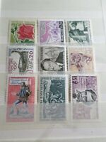 FRANCE, LOT  timbres ANNEES '60 neufs** LUXE, MNH STAMPS, 6S