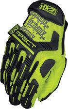 Mechanix Wear HI-VIZ MPACT M-PACT Gloves NEON YELLOW LARGE (10)