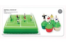 PME Football Soccer Cake Topper 9 piece set