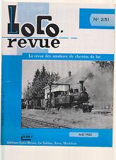 LOCOR REVUE N°251 CHEMIN DE FER BLANC ET ARGENT / L ADHERENCE DES LOCOS