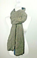 Universal Thread Women's Wool Knit Oblong Winter Scarf Olive One Size