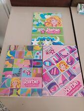 BARBIE i quaderni gioco - CREA TU - Quaderno VINTAGE 80s -MATTEL Italia-notebook