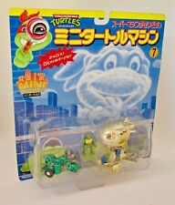 Teenage Mutant Ninja Turtles MINI TURTLES: BLIMP TURTLE CYCLE & LEO Pack No.7