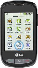 LG 800G - Black (Net10) Prepaid TouchScreen Smartphone