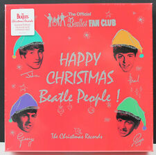 "THE BEATLES Happy Christmas Beatle People 7x 7"" col vinyl box set 2017 SEALED"