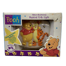1997 Vintage Winnie the Pooh Voice-Activated Musical Crib Light by Dolly Disney