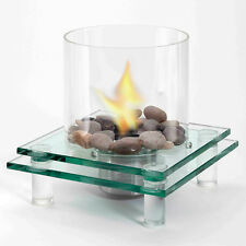 Flueless Table top Fireplace. No vents required.