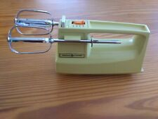 GE Custom Portable Mixer - M24HR - yellow 70's vintage hand mixer kitchen