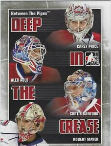 2010-11 ITG Between the Pipes Deep in the Crease #16 Montreal Canadiens
