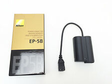 Nikon Japan EP-5B Power Connector for D7000 (requires AC adapter EH-5a)