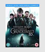 Fantastic Beasts: The Crimes of Grindelwald 3D Blu-ray + 2D Blu-Ray SEALED NEW