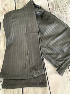 Wilson's Pelle Studio Black Leather  Pants, Size 6 Please Read