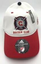 Chicago Fire Soccer Club Hat Cap Adidas Climalite Official MLS Headwear Official