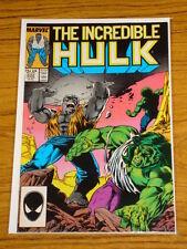 INCREDIBLE HULK #332 VOL1 MARVEL COMICS MCFARLANE JUNE 1987