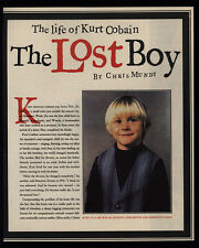 1994 Kurt Cobain The Lost Boy of Nirvana 3 Page Magazine Article & Photos