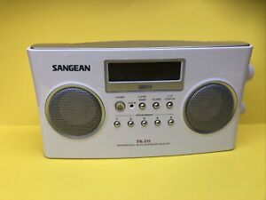 Sangean PR-D5 AM/FM Portable Alarm Radio w Digital Tuning and RDS