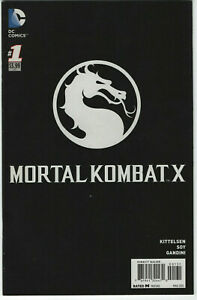 Mortal Kombat X #1 1:10 DC Comics Retailer Incentive Edition Variant Logo Cover