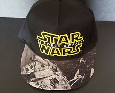 New Boy's Star Wars Millennium Falcon TIE Fighter Baseball Cap Hat SnapBack OSFA