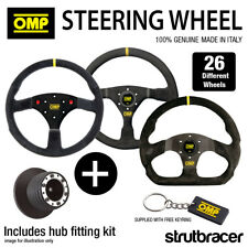 OMP Steering Wheel & Hub fits RENAULT CLIO MK3 197 CUP (15mm SPLINE) 2008-2012