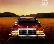 1979 FORD LTD ORIGINAL USA SALES BROCHURE
