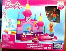 Mega Bloks Barbie Rainbow Princess Castle 81 Pieces