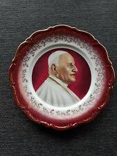 Ancienne Assiette Décorative Pape Jean XXIII