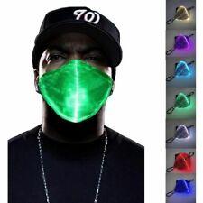 Masque Lumineux LED, Masque Lumineux 7 Couleurs Hommes Lumineux Et Les Femmes