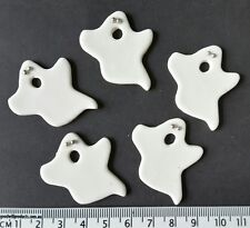12 x ghosts Halloween toppers party cake cupcake decorations edible