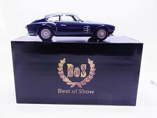 63153 BOS 194351 Maserati A6G 2000 Zagato dunkelblau Modellauto 1:18 NEU in OVP