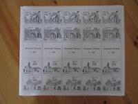 VEGAS - 1983 Mexico Full Sheet!  Sc# 1338-1341 - MNH, OG - Nice! - (CS54)