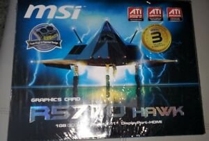 R5770-HAWK MSI Radeon R5770 Hawk 1GB GDDR5-SEALED