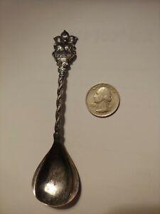 United States Canada Flags Washington Teaspoon Spoon Souvenir Design Decor Home Vintage Nostalgia ~ SS006