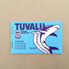 TUVALU 1979 $4.60 Fish Bklt MUH scott SB3 (A159)