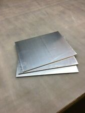1/4 in Aluminum Plate, 8 in x 12 in, 6061-T6 new mill finish plate (pack of 3)