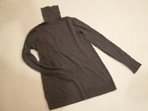 GAP Maternity Gray Turtleneck Sweater Top  M MEDIUM