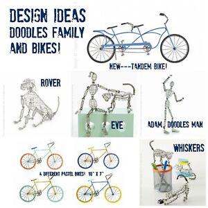 Doodles Family + Pastel & Tandem Bikes Dog Cat Yoga Poses by Design Ideas