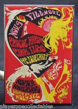 "Pink Floyd @ The Fillmore Concert Poster 2"" X 3"" Fridge Magnet. H. P. Lovecraft"