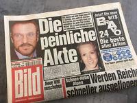 Bildzeitung vom 26.02.1999 * 19. 20. 21. Geburtstag Geschenk * Götz George