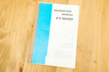 Yaesu FT101ZD manuale di istruzioni