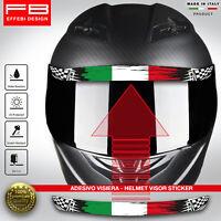 Adesivo Sticker Casco Visiera Helmet Visor Italy Italia Mugello Imola MotoGP SBK