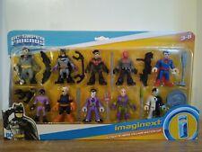 Imaginext Héroe Villano Ultimate coincide Nuevo Sellado Capucha Roja Batman Superman.